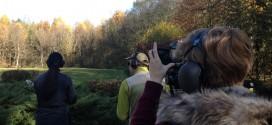 Schießstandvorstellung des Jagdparcours in Hattenhofen